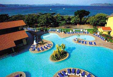 View of the Occidental Allegro Papagayo Hotel